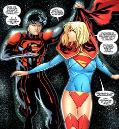 Superboy vs Kara