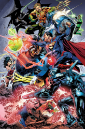 Darkseied vs Justice League
