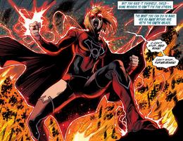 Kara anillo red lantern