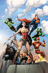Justice League 01 2016 variant