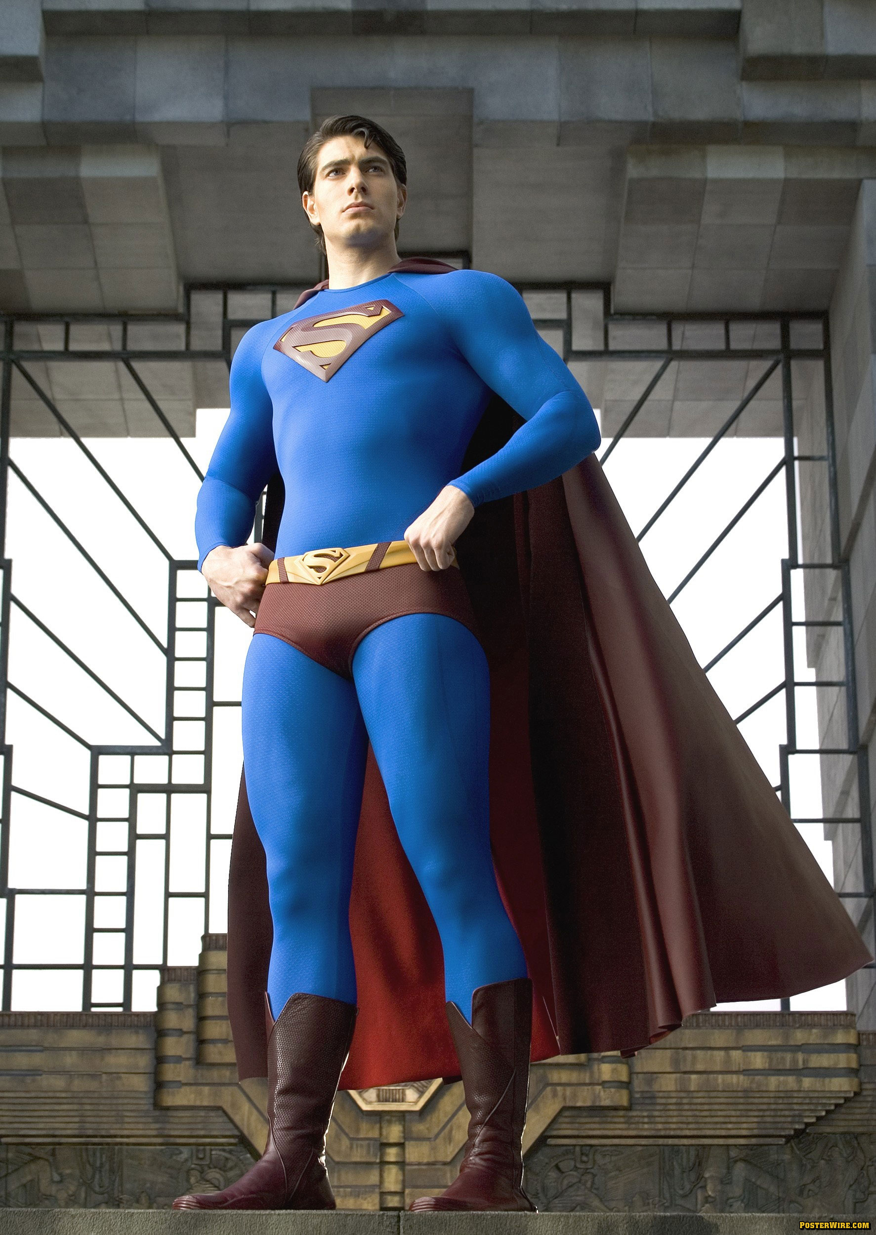 CapedWonder Superman Imagery. Christopher Reeve Superman Brandon routh superman photos