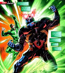 Darkseid vs Lantern