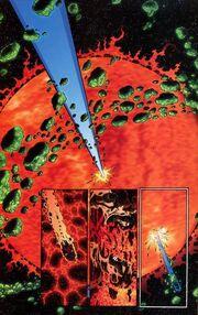 Superman Superboy Prime through Red Sun