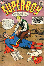 SupermanDeath-Superboy106July1963