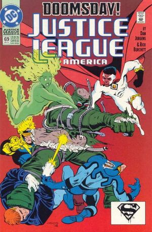 Justice League America 69