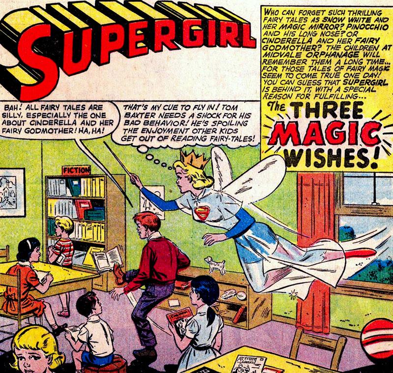 The Three Magic Wishes | Superman Wiki | FANDOM powered by Wikia