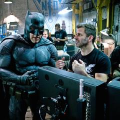 Batfleck y Zack Snyder