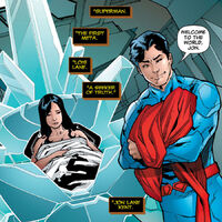 superman and wonder woman child