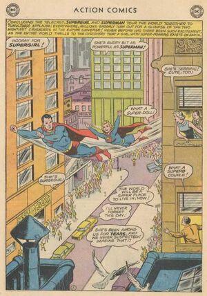 Supergirl on Tour