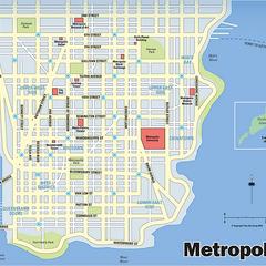 Mapa de Metropolis