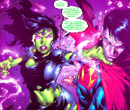 Lois alterand la mente de Clark