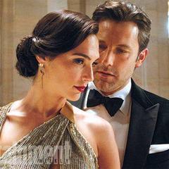 Bruce Wayne y Diana Prince