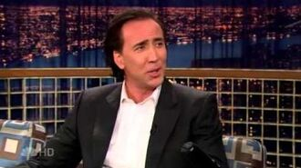 "Nicolas Cage on ""Late Night with Conan O'Brien"" - 2 15 07"