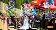 Superman marries Lois