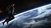 Superman earth