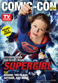 TV Guide Supergirl cover 2015