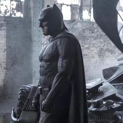 Batman en el set de grabación