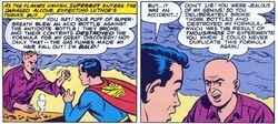 Superboy and Lex Luthor