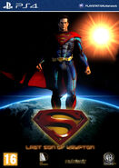 Superman last son of krypton game cover by oakanshield-d6fqbca