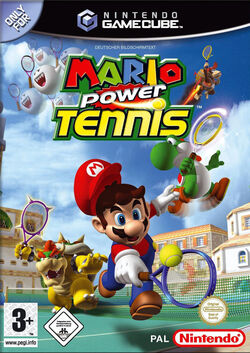 Mario Power Tennis GC