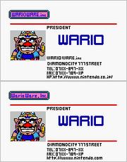 Wario staff card comparison WWMM