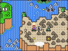 SMW Wendy's Castle 6 Map