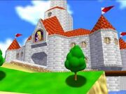 Princess Peach's Castle Super Mario 64
