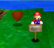 Spinning heart SM64