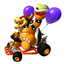Bowser MK64 Sticker