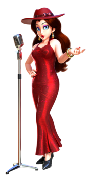 Super Mario Odyssey - Character artwork - Pauline 01