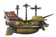 Airship NSMBW