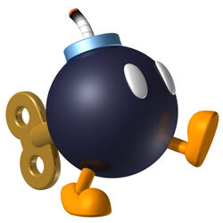 MKwii Bob-omb