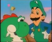 Gopher Bash Luigi Yoshi