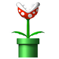 Nsmb-piranha-plant
