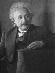 452px-Albert Einstein, by Doris Ulmann