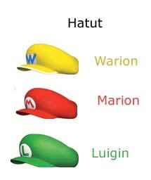 Super Mario 64 DS Hatut