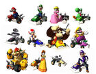 Mario Kart DS hahmot