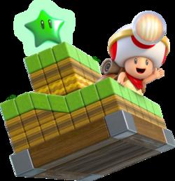 465px-Toad Brigade Captain Artwork - Super Mario 3D World