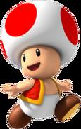 Rød toad