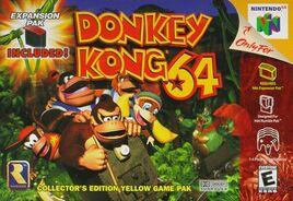 Donkey Kong 64 -kansikuva