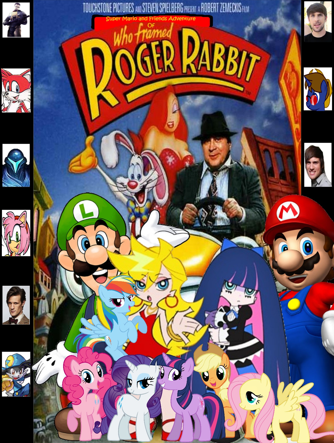 Super Mario and Friends Adventure of Who Framed Roger Rabbit | Super ...