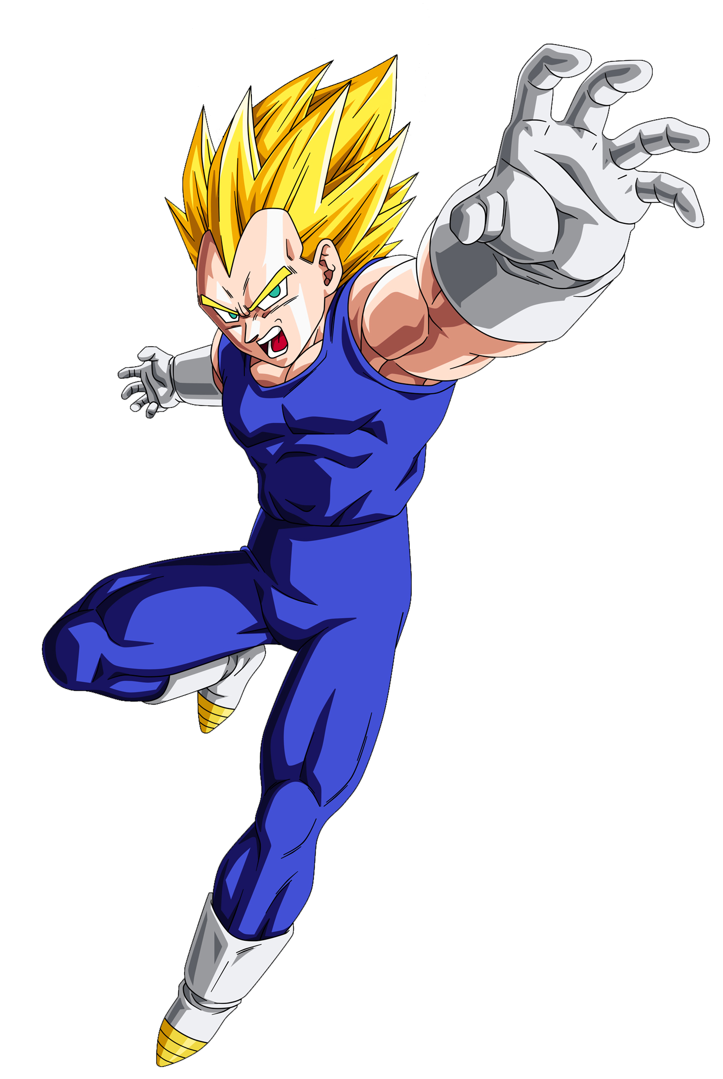 Image Vegeta Ssj Buu Saga Render Png Super Sonic Bros Super Wiki