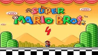 Super Mario All-Stars X Super Mario Bros 4 Trouble At Haylon Island SMBX Game