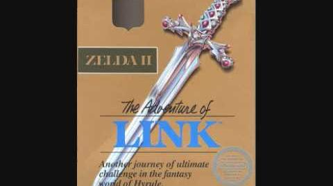 Zelda II The Adventure of Link Music Palace Theme