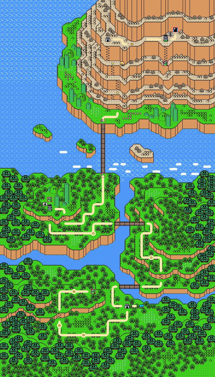 Image - Vi2r w4 map.png | Super Mario Bros X Wiki | FANDOM powered ...