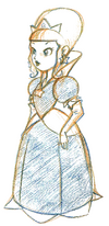Princess Rosalina concept