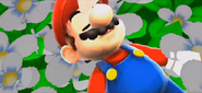 SMG Mario on the ground