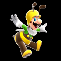 Bee Luigi Super Mario Galaxy