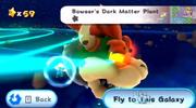 Bowser's Dark Matter Plant