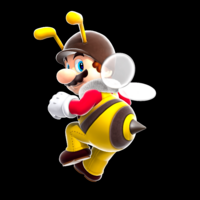Bee Mario Super Mario Galaxy